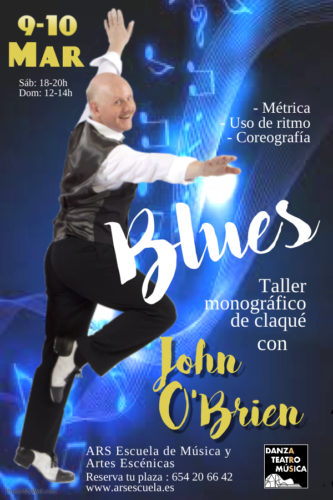 John O'Brien – Taller de claqué – Blues tap dance
